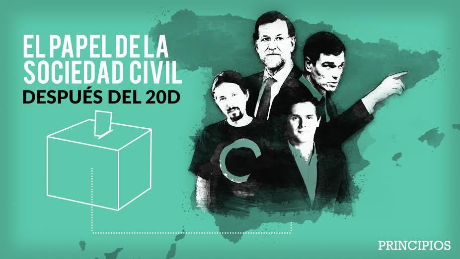 #El papel de la sociedad civil después del 20D