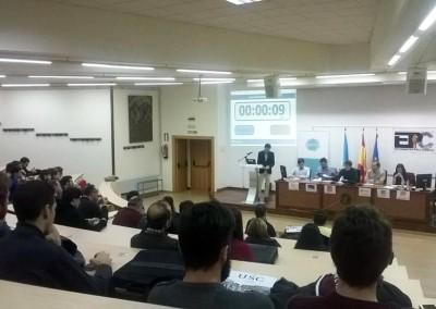 #Debate en Santiago de Compostela sobre las Elecciones Generales