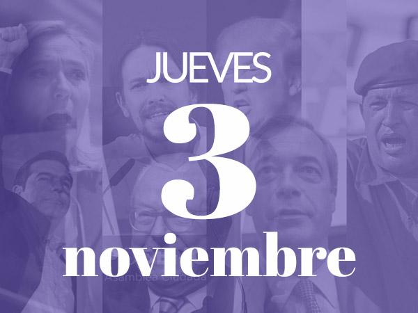 """#CañasPolíticas en Madrid: """"Populismo: la lucha contra las élites en Estados Unidos y Europa"""""""