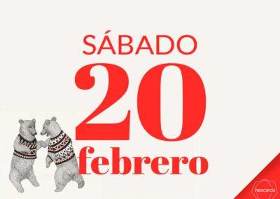 #FiestaPrincipios el 20 de febrero y Entrega de premios Lucha contra el Descarte y Reconstitución