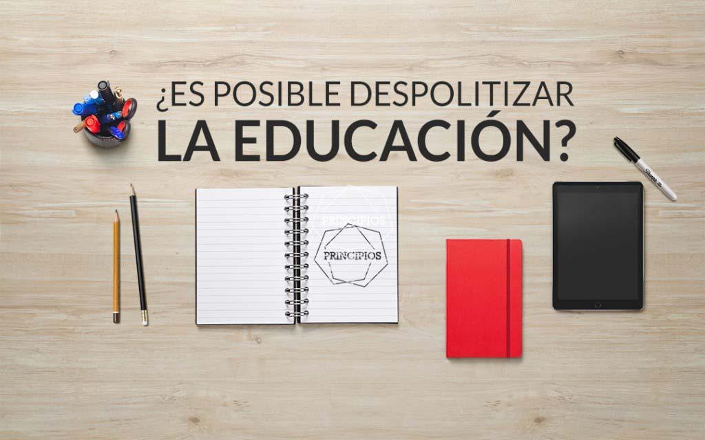 despolitizar-educacion