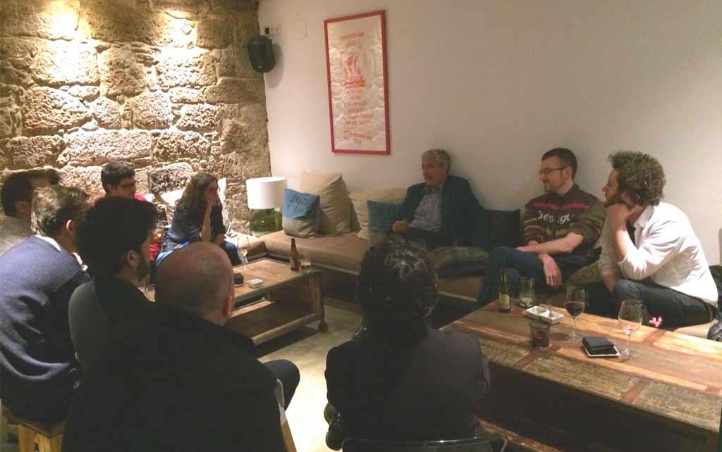 Debate-Coloquio sobre el centro político (Santiago de Compostela)