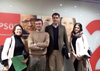 Principios se reune con el PSOE para presentar sus propuestas y que sean incluidas en el programa electoral