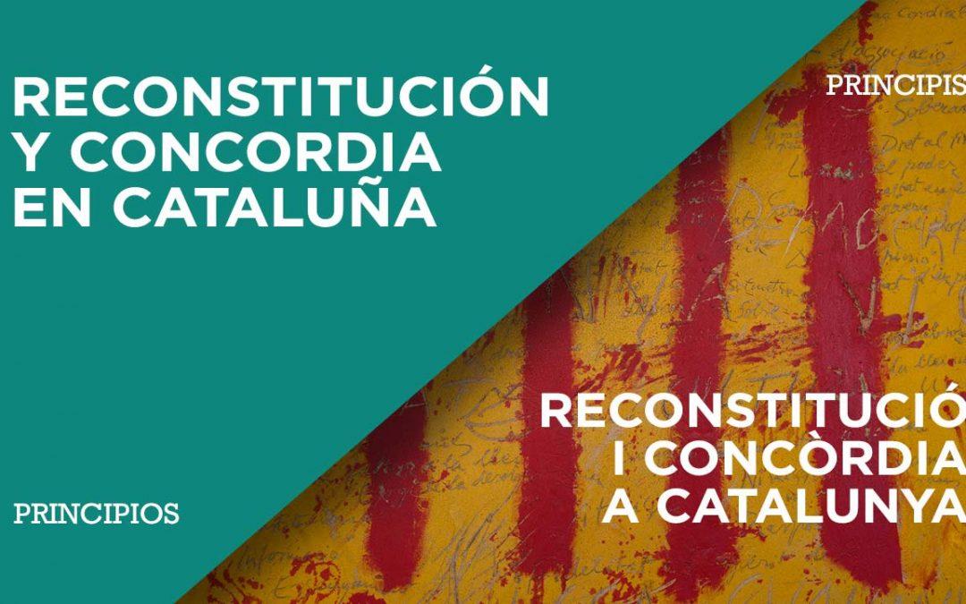 Reconstitución y concordia en Cataluña