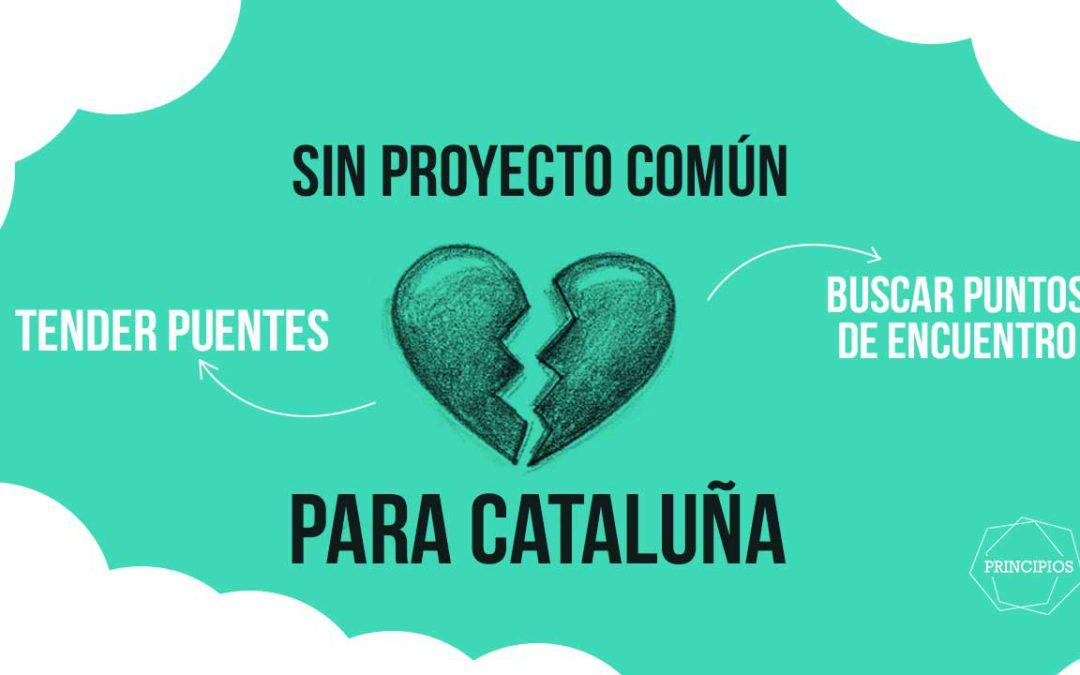 Sin proyecto común para Cataluña. Tras el 27S