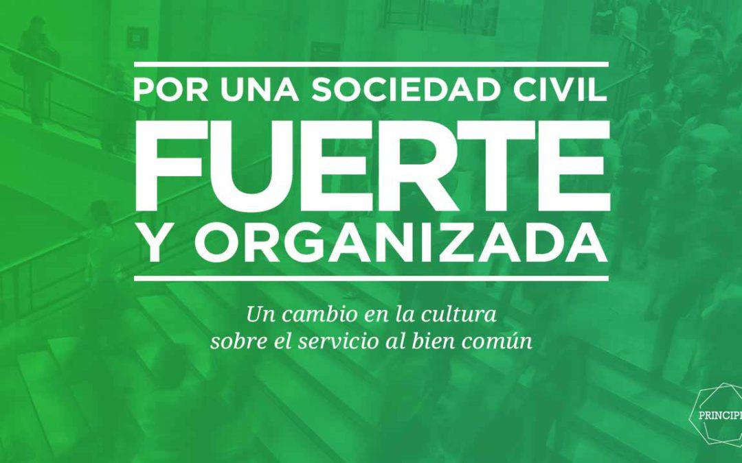 Por una sociedad civil fuerte y organizada – Desarrollo de la #Propuesta10