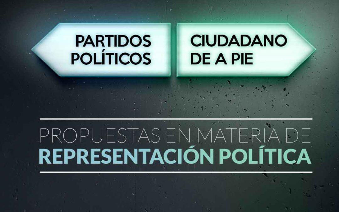 #Propuesta2 en materia de representación Política