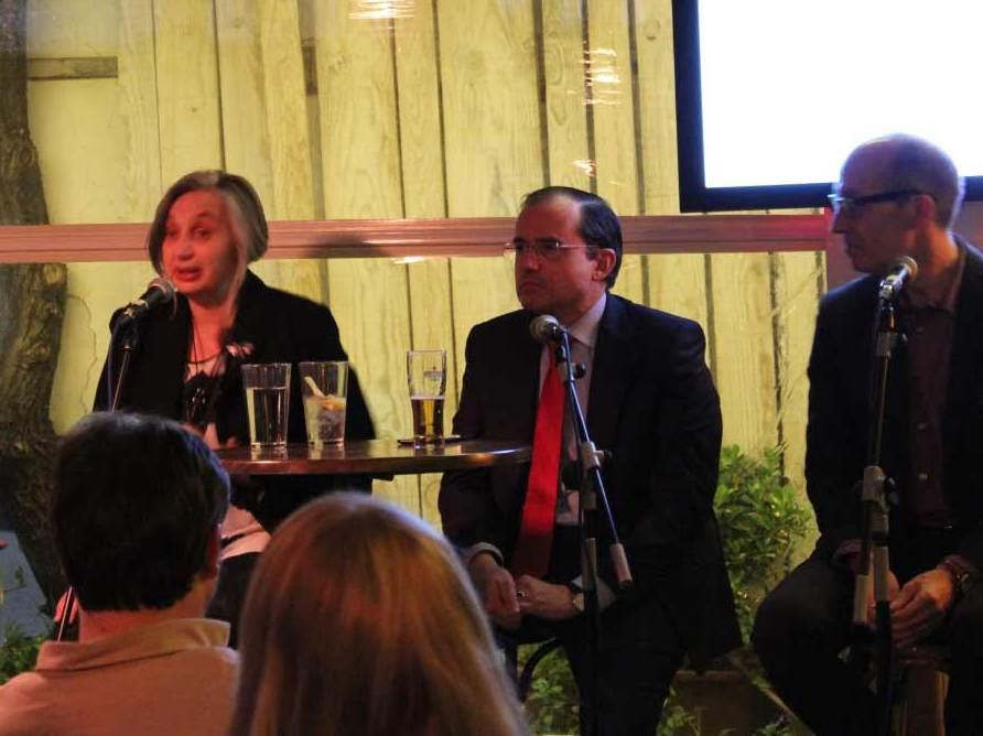 Cañas Políticas PACTO EDUCATIVO ponentes